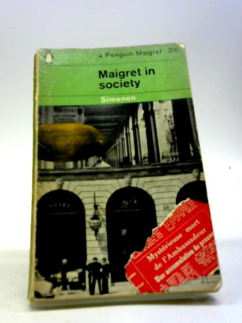 Maigret in Society by Georges Simenon