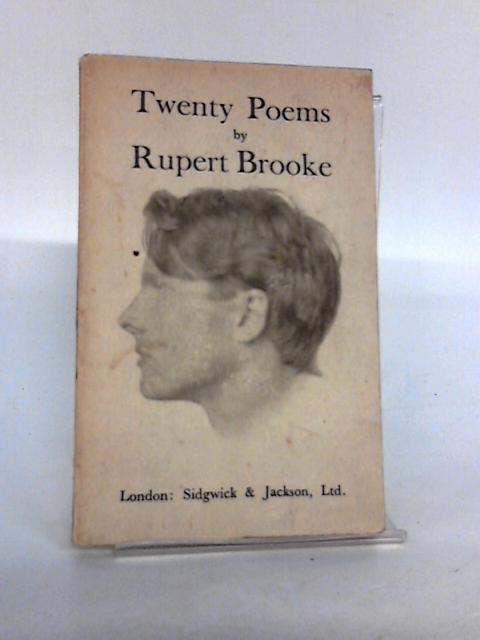 Twenty Poems. by Brooke, Rupert.