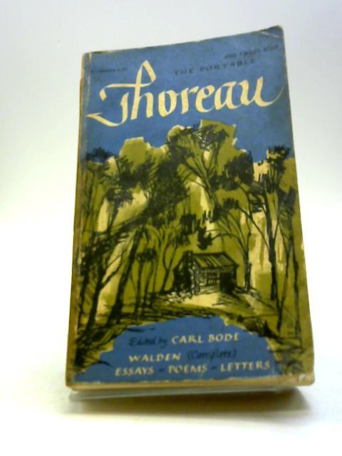The Portable Thoreau by Bode, Carl (edit).