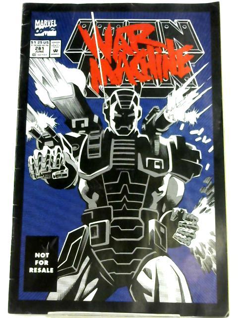 Iron Man: War Machine Vol. 1 No. 281 by Len Kaminski