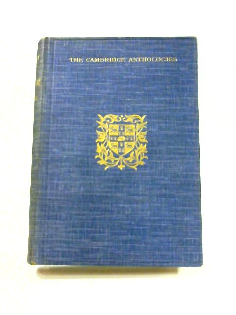 An Anthology of Poetry: Of the Age of Shakespeare. by W.T. Young (ed)