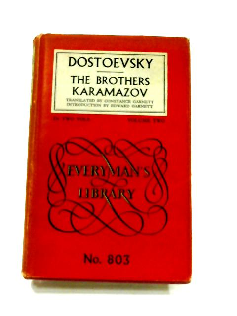 pinion paper on the brothers karamazov Dostoevsky's last, longest and possibly greatest novel has been known for nearly 130 years in english as the brothers karamazov sadly, this is wrong it should be called the karamazov brothers.