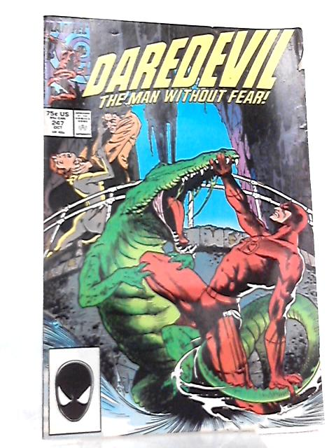 Daredevil Vol 1 No 247 October 1987 By Ann Nocenti et al