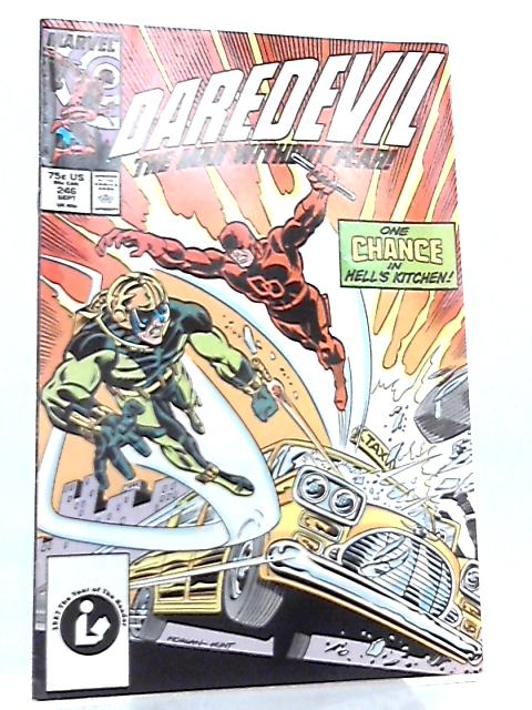 Daredevil Vol 1 No 246 September 1987 by Jim Owsley et al