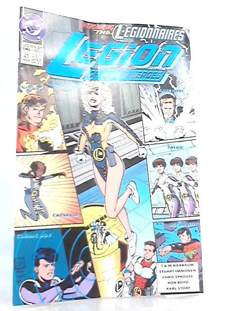 Legion of Super-Heroes No 41 March 1993 by T. & M. Bierbaum et al