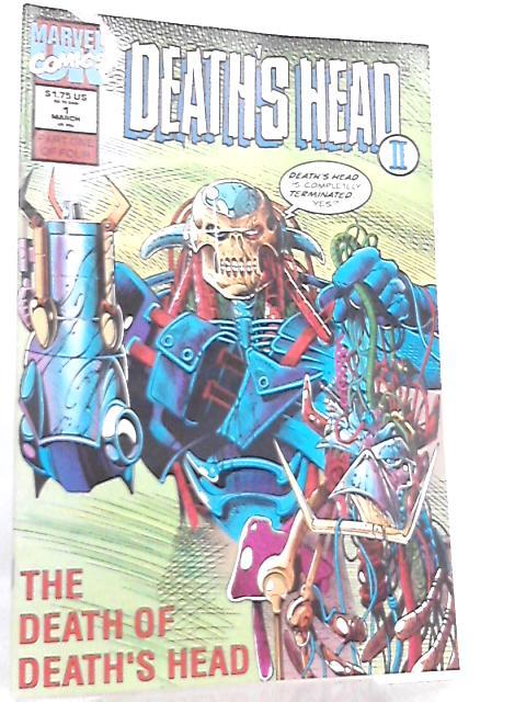 Death's Head II Vol 1 No 1 March 1992 by Dan Abnett et al