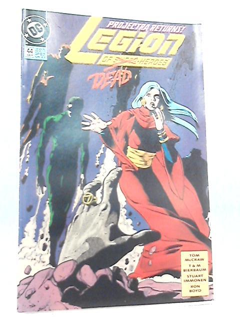Legion of Super-Heroes No 44 June 1993 by McCraw & Bierbaum et al