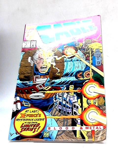 Cable: Blood & Metal # 1 ( Original American COMIC ) By Marvel Comics