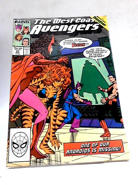 West Coast Avengers # 42 ( Original American COMIC ) By Marvel Comics
