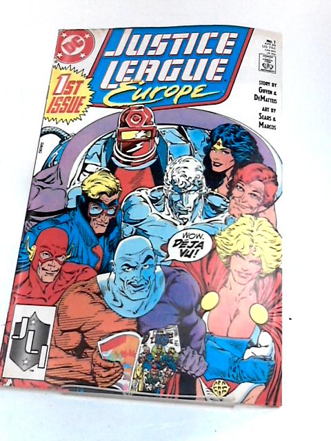 Justice League Europe 1 By Unknown