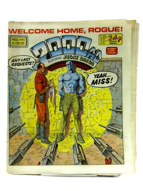 2000 AD: Prog 444 By Anon