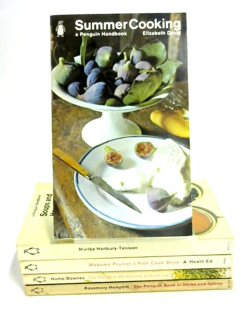 5 1960's Penguin Cookery Books by Various