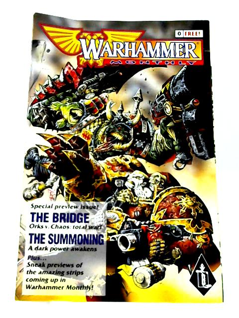 Warhammer Monthly: No. 0 Preview Issue By Anon