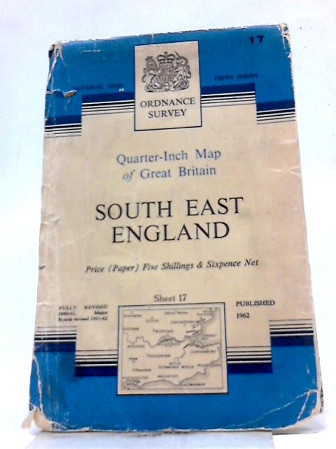 Quarter-Inch Map of Great Britain: South East England Sheet 17 by Anon