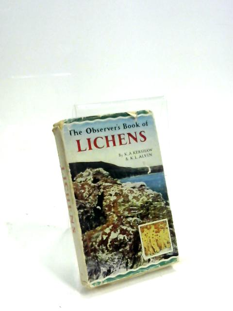 The Observer's Book of Lichens by K. A. Kershaw