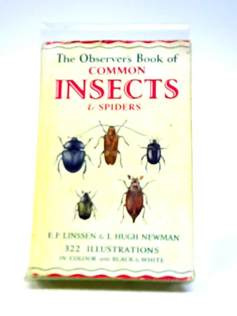 The Observer's Book of Common Insects & Spiders by E.F. Linssen