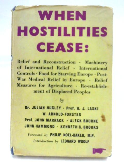 When Hostilities Cease By Various