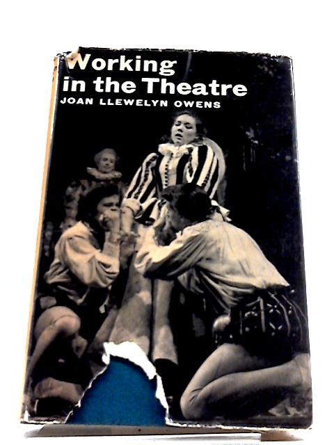 Working In The Theatre (Career Guides) by Joan Llewelyn Owens