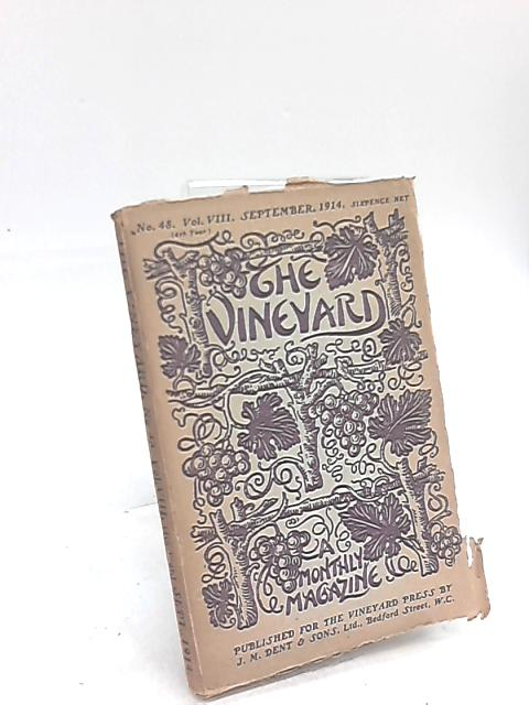 The Vineyard Monthly Magazine volume VIII no. 48 September 1914 By Anon