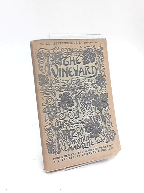 The Vineyard Monthly Magazine No. 412 september 1911 By Various