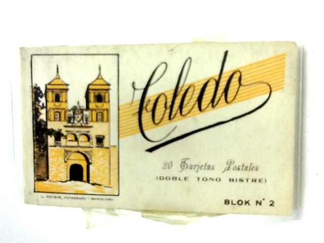 20 Undated Sepia Postcards of Toledo by Unknown
