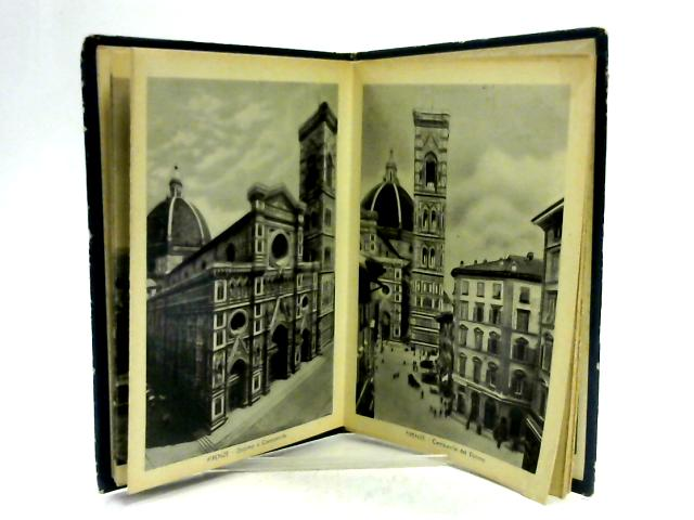 Ricordo Di Firenze - Undated Black and White Plates of Florence, Italy. by Unknown
