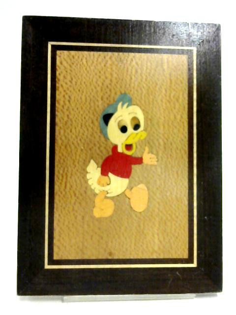 Disney Duck Veneer Print With Hanging Clip By None
