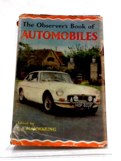 The Observer's Book of Automobiles (Observer's pocket series) by L A Manwaring