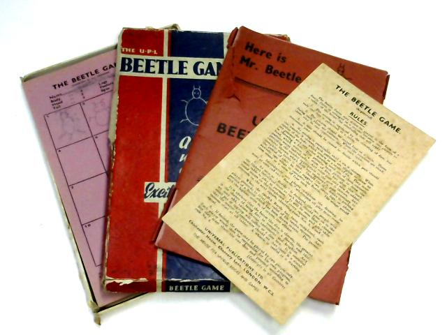 The U.P.L Beetle Game, A Game of Chance Which Causes Riots of Breathless By None