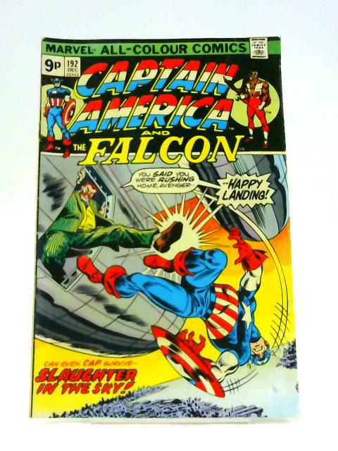 Captain America: And The Falcon No. 192 by Marv Wolfman