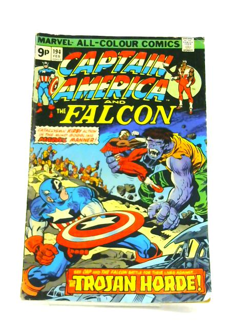 Captain America: and the falcon No. 194 by Jack Kirby
