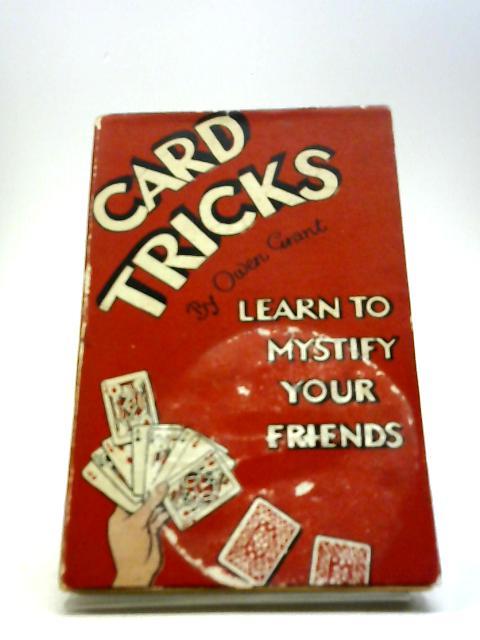 Card Tricks by Owen Grant