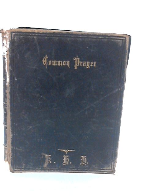 The Book of Comon Prayer by Unknown