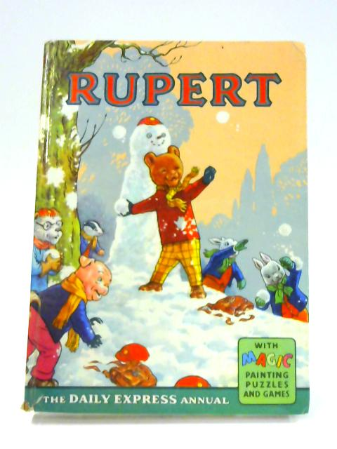 Rupert Annual 1962 by Alfred Bestall