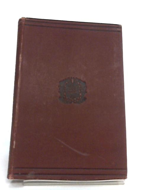 Selected Letters of Pliny Part I Text by Constantine E. Prichard and Edward R. Bernard