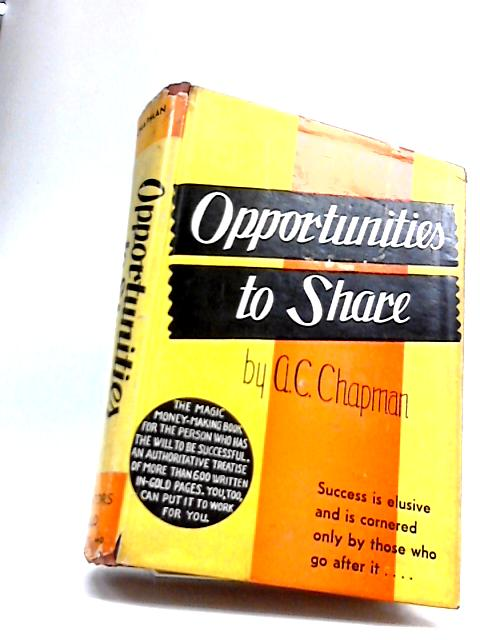Opportunities to share by Andrew Charles Chapman
