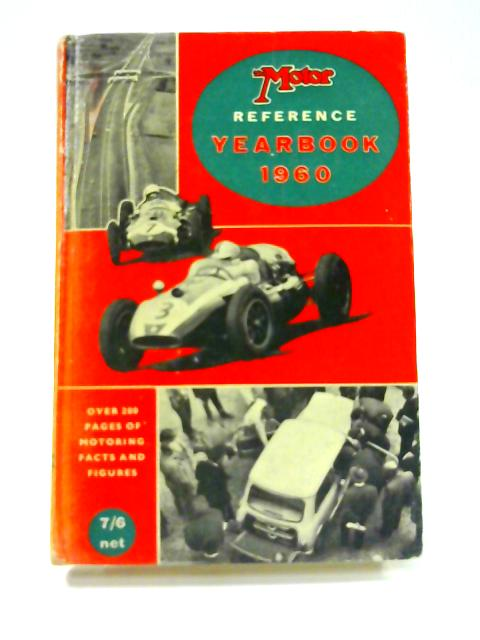 The Motor Reference Yearbook 1960 by D.B. Tubbs