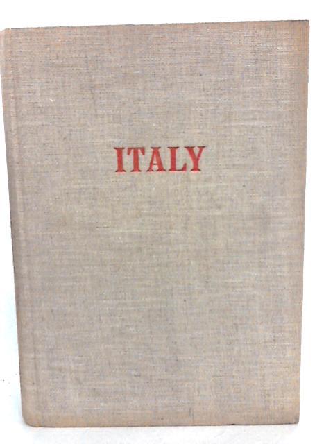 Italy; L'Italie; Italien. By Aldington, Richard