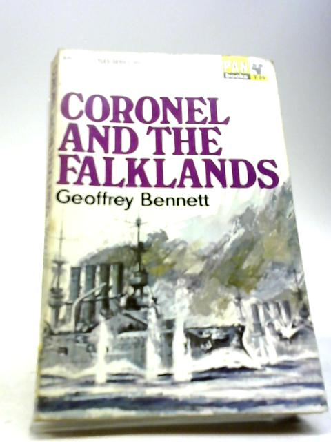 Coronel and the Falklands (British Battles) by Bennett, Geoffrey