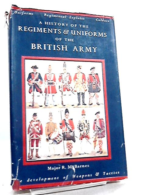 A History of the Regiments & Uniforms of the British Army by Major R. Money Barnes