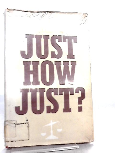 Just How Just? by David Lewis