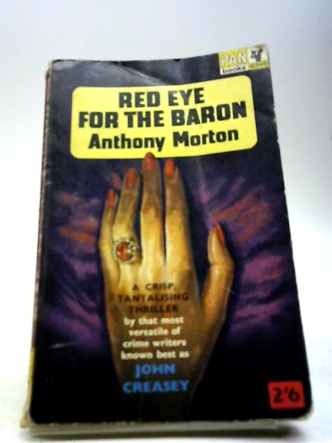 Red Eye For The Baron. by Morton, Anthony