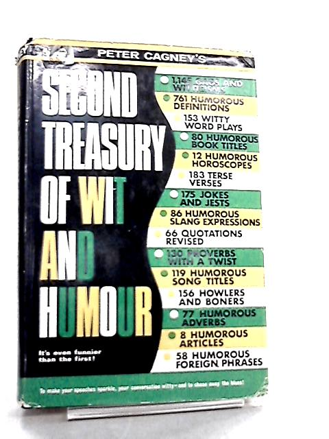 Second Treasury of Wit and Humour by P. Cagney