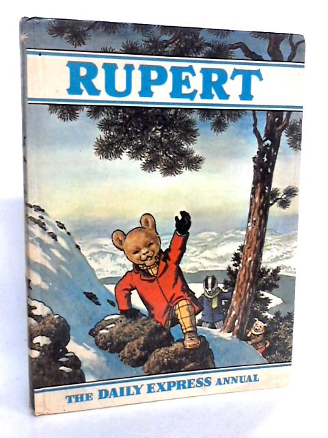 Rupert Annual 1970 by Alfred Bestall