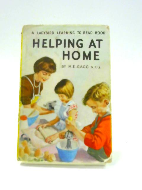Helping at Home (A Ladybird book series 536) by M.E. Gagg