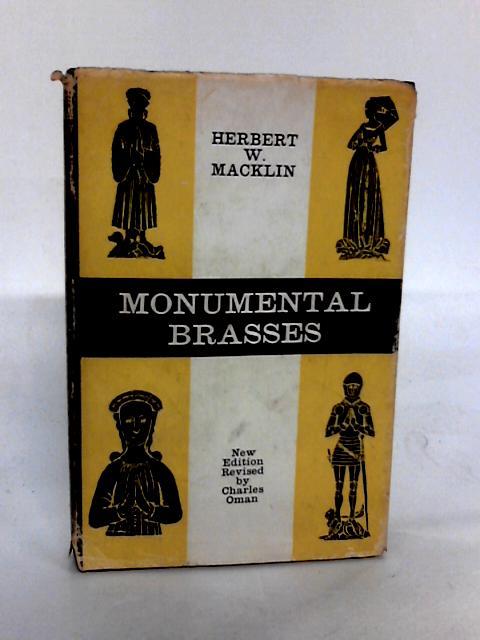 Monumental Brasses by Herbert W. Macklin
