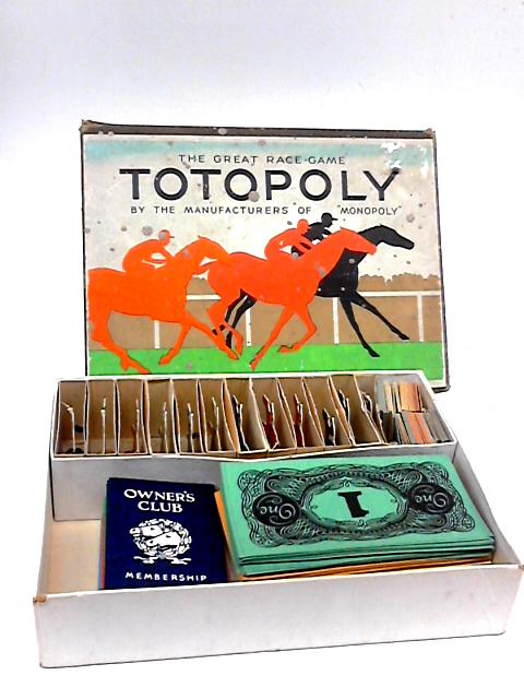 Totopoly The Great Horseracing Game by Waddingtons