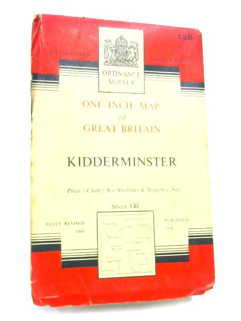 Kidderminster, One-Inch Map Sheet 130 by Anon
