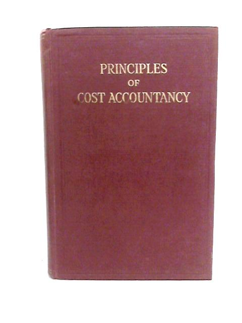 Principles of Cost Accountancy By Buyers, Charles Ian