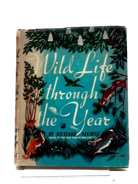 Wild Life Through The Year By Morse, Richard